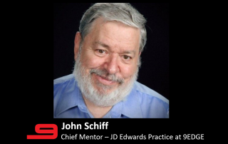 9EDGE Welcomes John Schiff as Chief Mentor to their JDE Practice