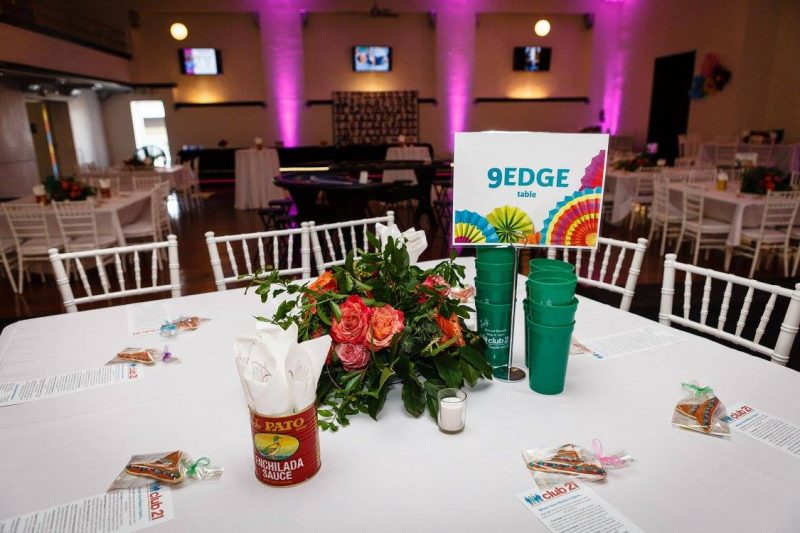 9EDGE, a Visionary Sponsor and Club 21 put the FUN in FUNdraising!